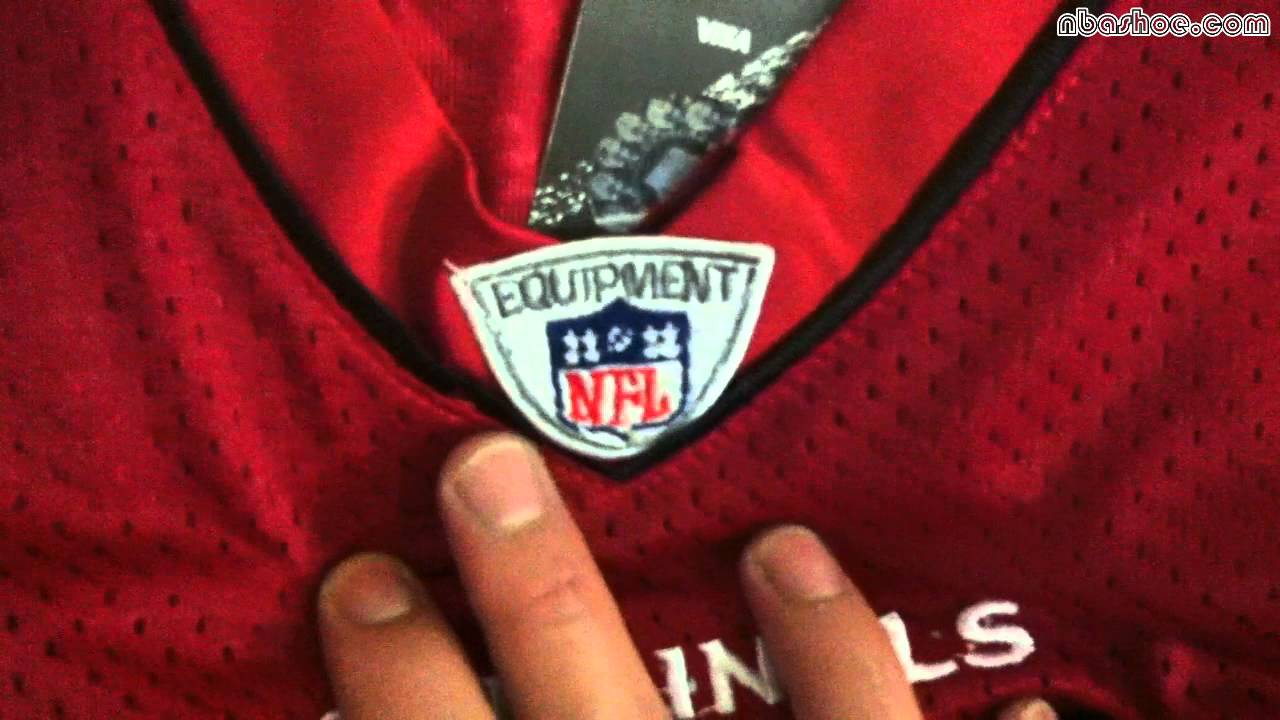 designer fashion c7cf8 d8682 NFL Reebok Arizona Cardinals #11 Larry Fitzgerald Super Bowl Red Jersey at  NBASHOE