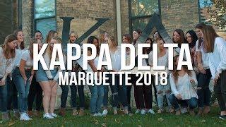 Kappa Delta | Marquette Recruitment 2018