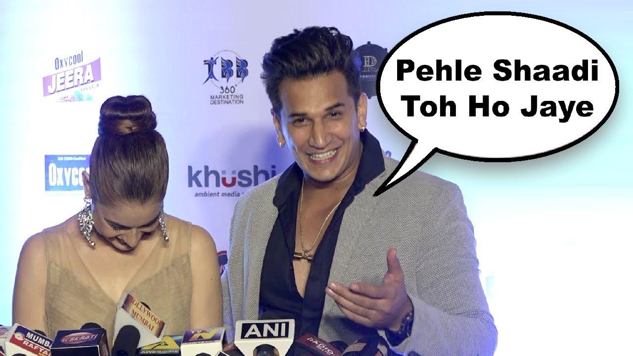 Prince Narula Reaction On Having Baby With Yuvika Chaudhary