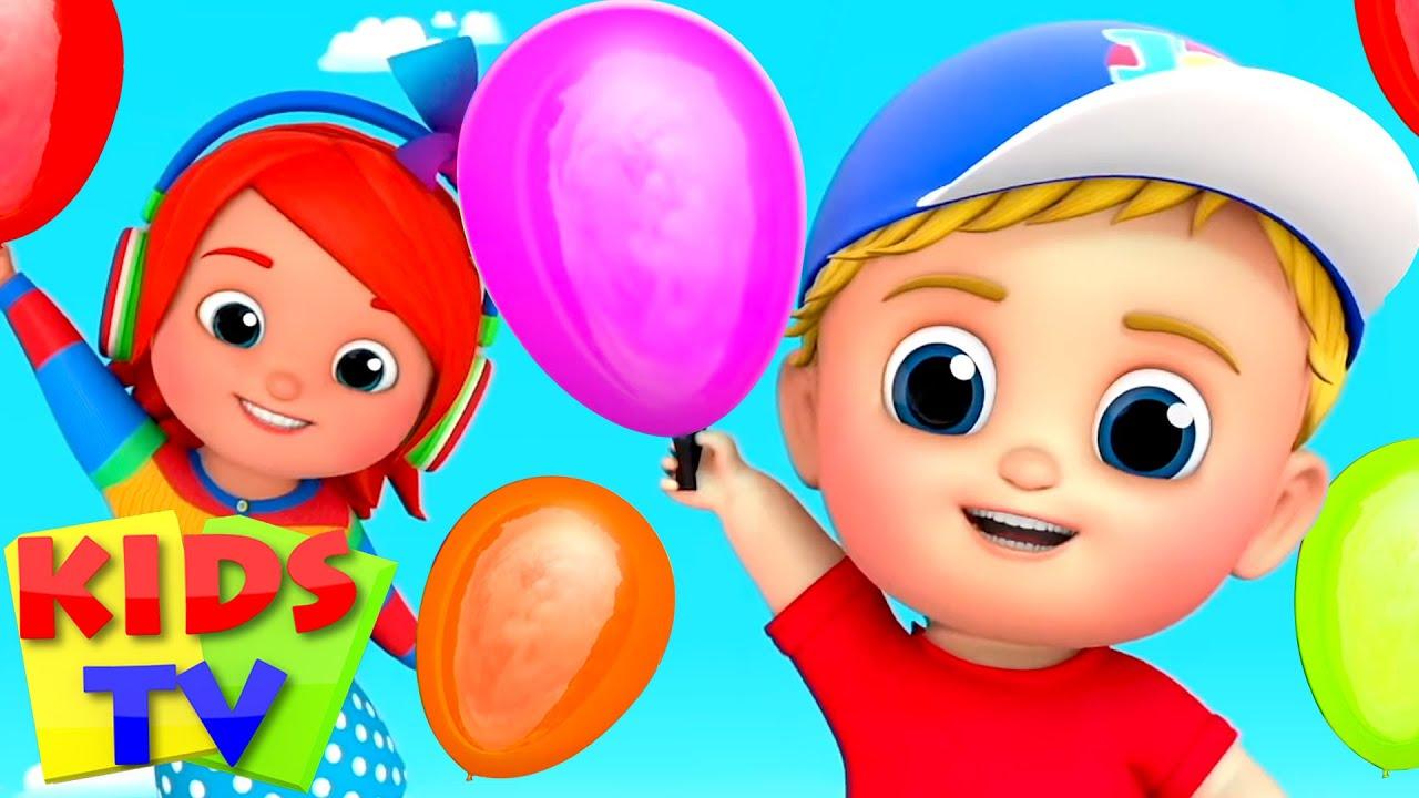 Lagu balon | Kartun untuk anak | Video edukasi anak | Kids Tv Indonesia | Bayi Sajak