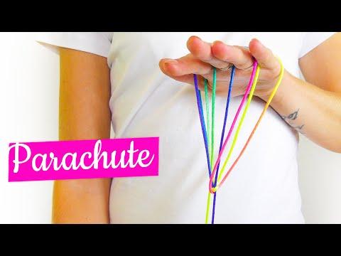 Parachute Facile - Figure De Ficelle - Tuto Français