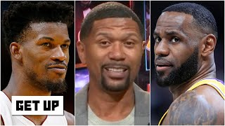 Jalen Rose on the NBA Finals: LeBron vs. Jimmy Butler, Pat Riley & Erik Spoelstra | Get Up