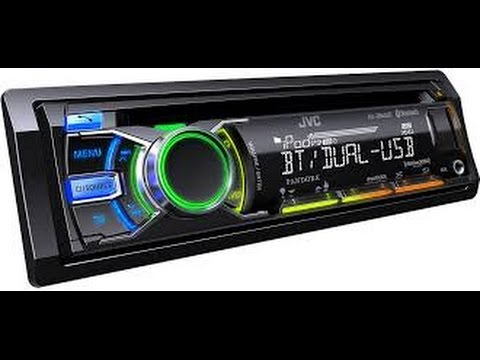 how to program the clock on a jvc car stereo