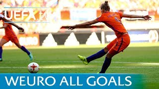 Women's EURO 2017: Watch all 68 goals now!
