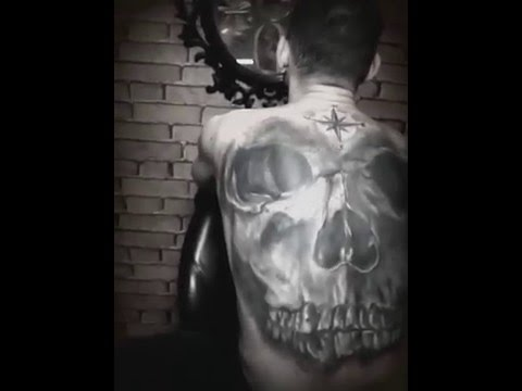 Sons of anarchy tattoo done youtube for Sons of anarchy tattoos