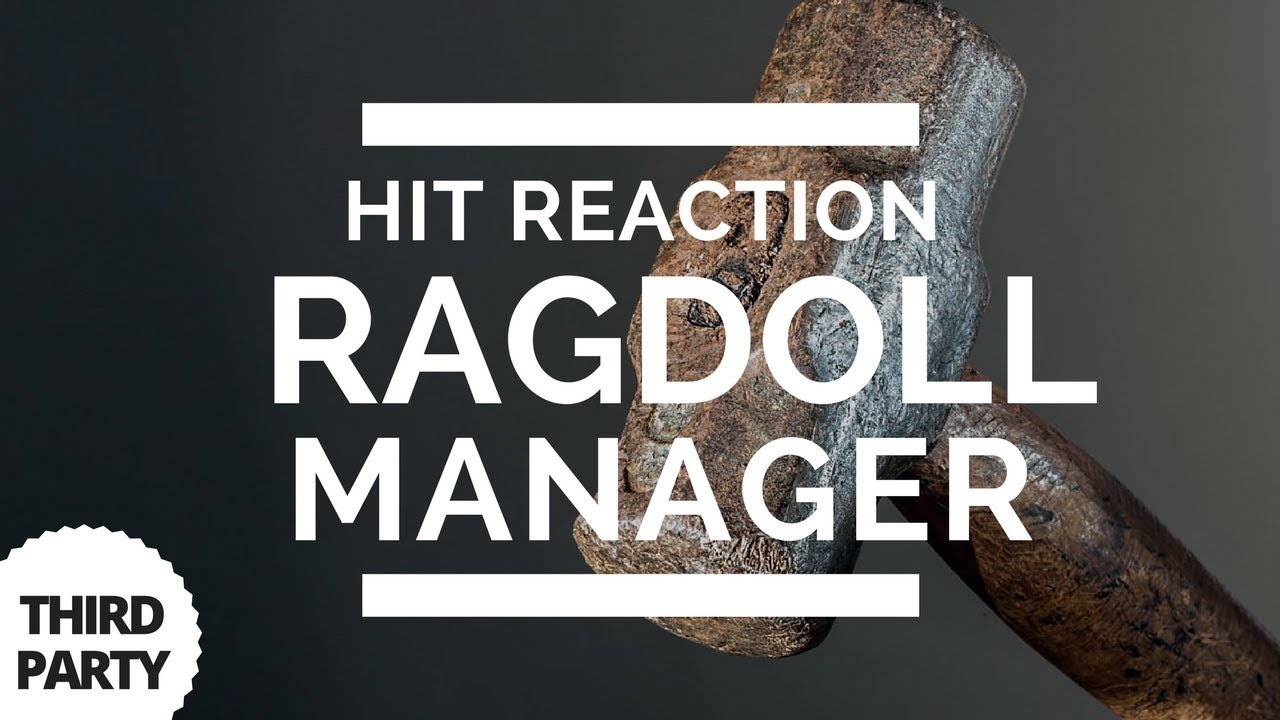 Ragdoll - Hit Reaction Manager Playmaker Actions   DumbGameDev