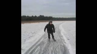 schaatsen op de Bergvennen