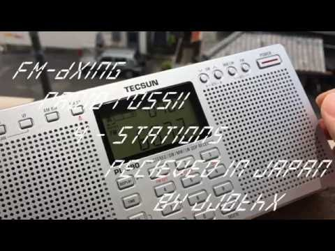 【FM-DX】4 stations Radio Rossii Jun 12th 2016 1157(JST)