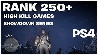 RANK 290 RED DEAD REDEMPTION 2 ONLINE  $$$ PVP SHOWDOWN SERIES  $$$ UPDATE SOON