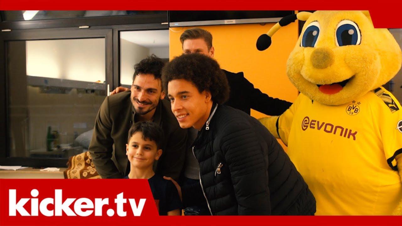 Ein besonderer BVB-Termin - Weihnachtsbesuch in der Kinderklinik | kicker.tv