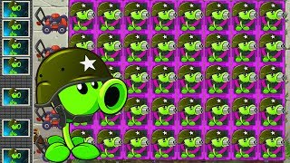 Repeat youtube video Plants vs Zombies 2 Mod: PEASHOOTER vs GARGANTUAR FIGHT!
