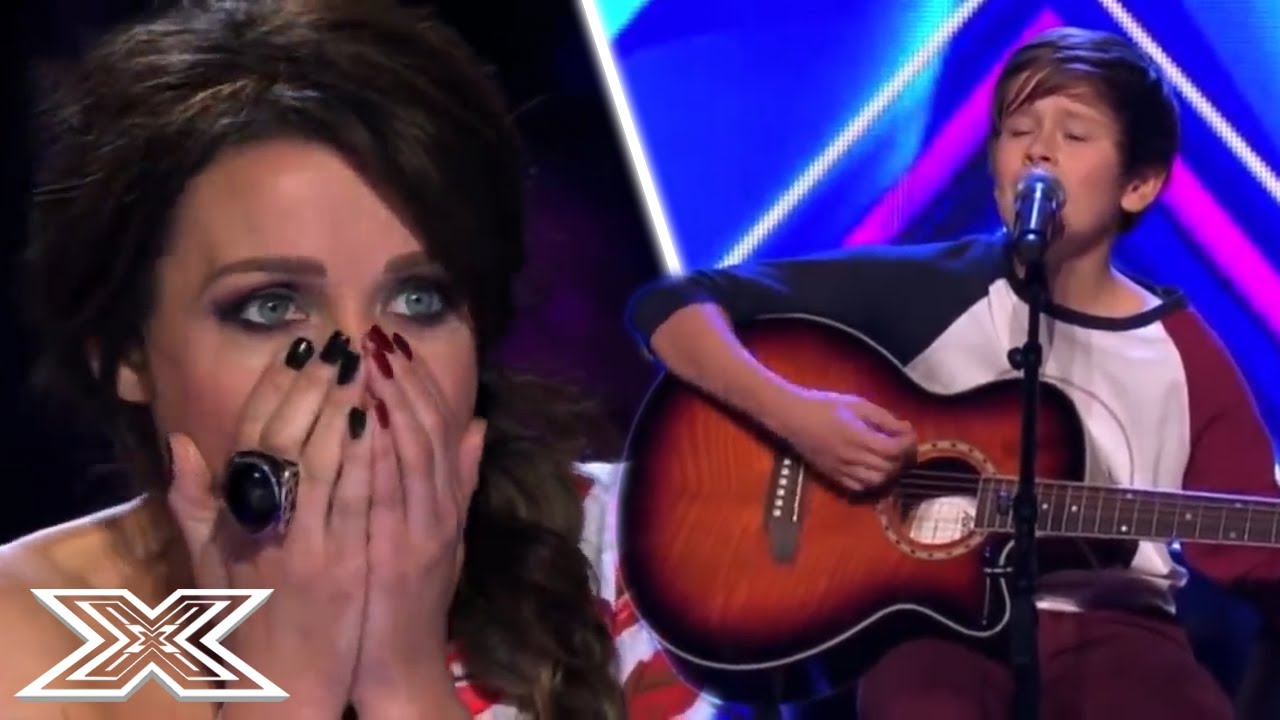 14 Year Old Contestant Auditions With SENSATIONAL Original Song | X Factor Global