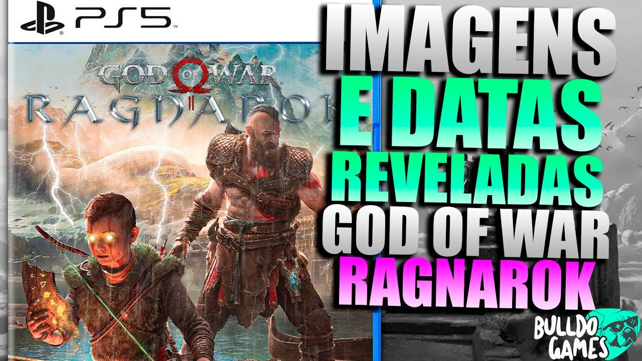 Imagens e DATAS REVELADAS Do Novo God Of War RAGNAROK! ESPETACULAR...