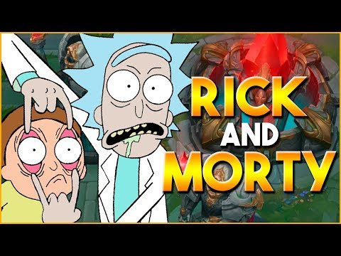 [RANKED] O DUO RICK AND MORTY! - SkorPiioN
