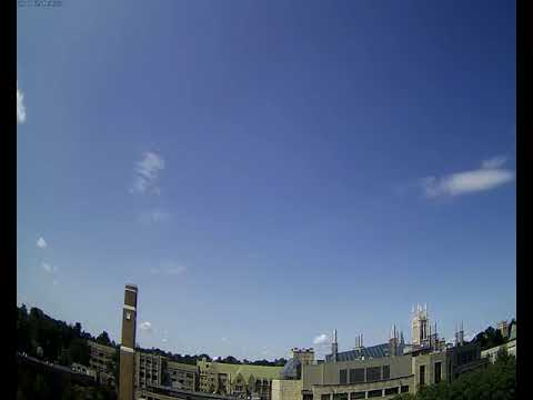 BC Gasson Sky Camera 2017-08-25: Boston College
