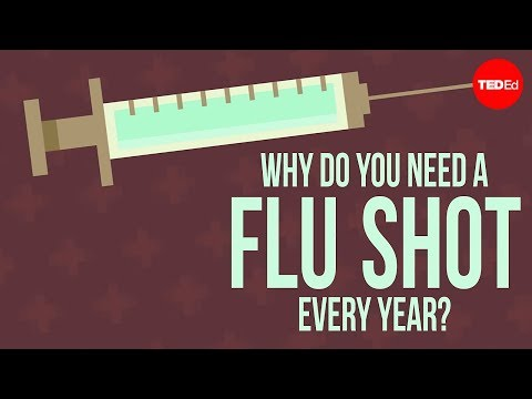 Why do you need to get a flu shot every year? – Melvin Sanicas