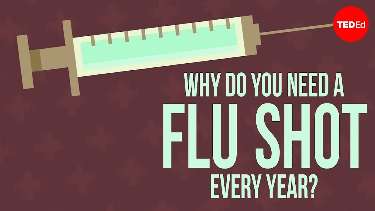 why do you need to get a flu shot every year melvin sanicas youtube