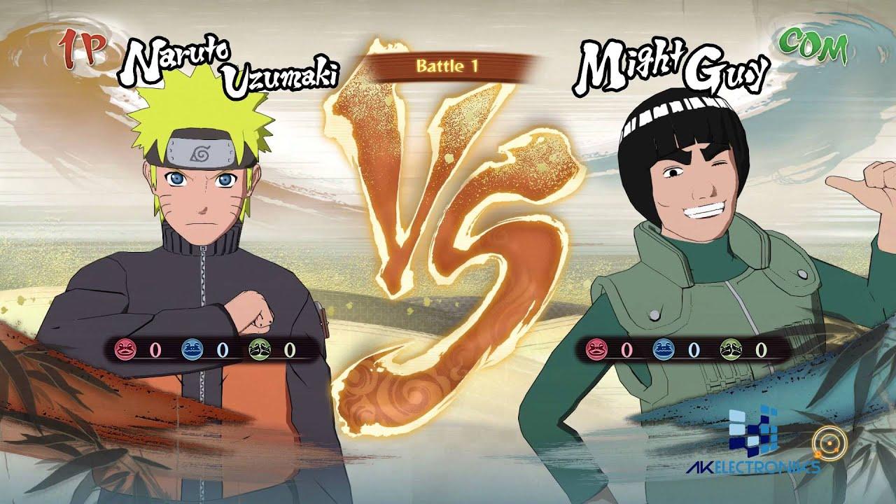 Naruto Gameplay Ps4 طريقة لعب ناروتو نينجا ستورم 4 على السوني 4 Youtube