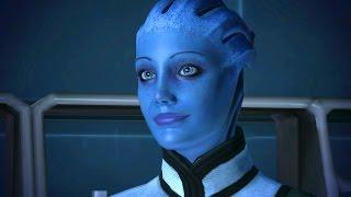 Liara Lectures Shepard about Asari Sex: Alien Mating Rituals (Mass Effect 1)