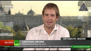 Cristiano Brown (UPYD) desmonta las mentiras del independentismo catalán
