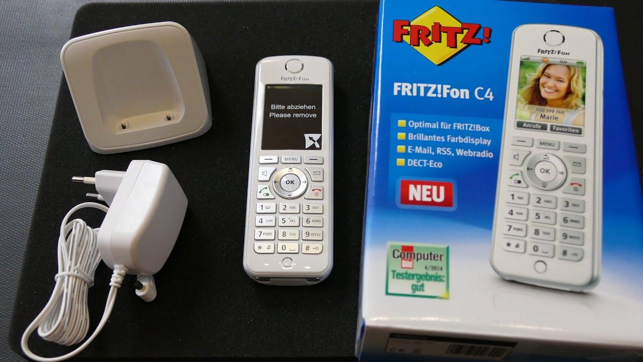 Fritz Fon C4 Uhrzeit Einstellen