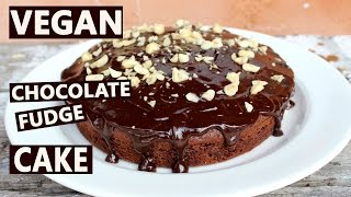 Vegan Chocolate Cake| Simple + Delicious!