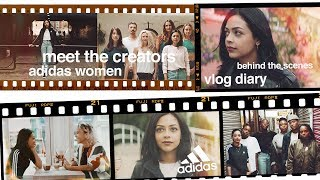 ADIDAS WOMEN MEET THE CREATORS BTS | VLOG DIARY | ad