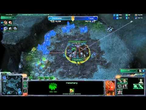 WCG 2012 GF StarCraft 2 с Майкером 1/1 часть