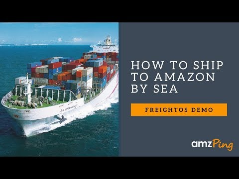 How to Ship Amazon FBA by Sea - Freightos Demo
