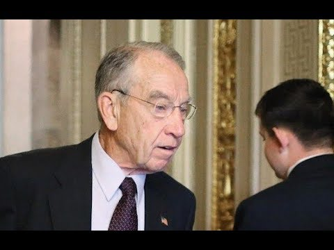 Grassley BOLTS When Asked About Manafort (VIDEO)