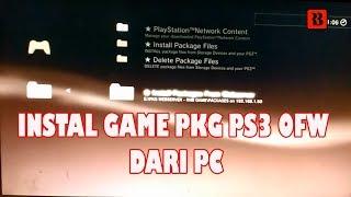 Cara Instal Game PS3 OFW PKG dari PC Offline   PS3 HAN