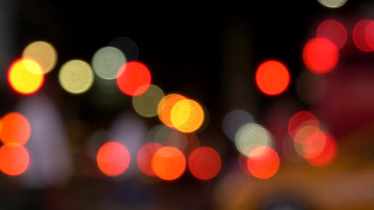 Blurry New York City Lights Loop