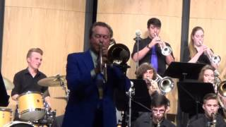 """""""Dangerous Curves"""" Indian Trail Jazz I and Tom Bones Malone  KUSD Jazz Fest 2015"""