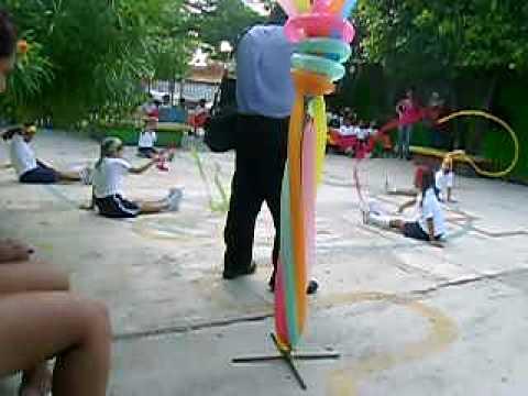 Muestra de Educacion Física Jardin Tochtli, Ver. - YouTube