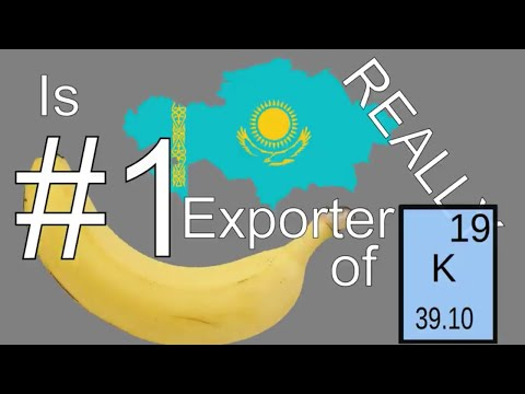 Is Kazakhstan Really Number One Exporter of Potassium?