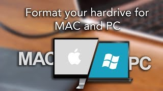 How to format your hard drive for MAC and PC - Seamlessly - Quick and Easy!