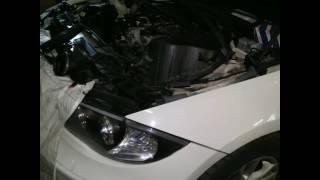 BMW E87 Moteur n43 code 2EF7 thermostat coincé