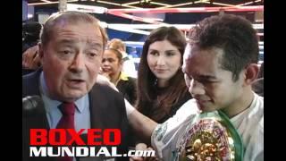 NONITO DONAIRE VS OMAR NARVAEZ POST FIGHT INTERVIEW