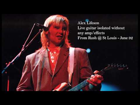 Alex Lifeson (Rush) - Full concert clean guitar only
