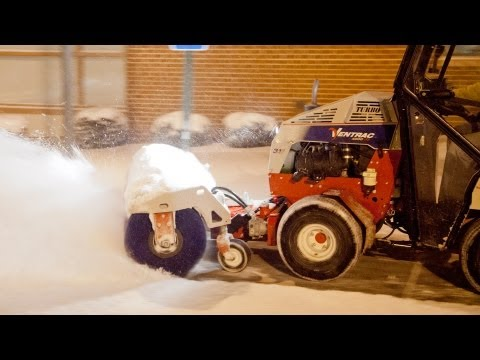 Sidewalk Snow Removal Equipment By Ventrac