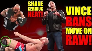 Vince BANNED Move On Raw After BOTCH! Shane McMahon SERIOUS WWE Heat After Secretly LEAKING Plans!
