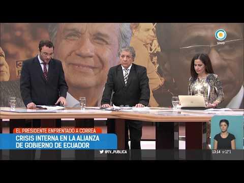 Ecuador: Lenín Moreno y Rafael Correa, enfrentados | #TPANoticiasInternacional