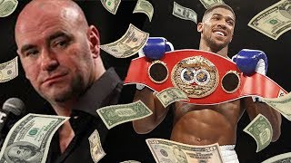 Dana White Offering Anthony Joshua HOW MUCH To Enter The Octagon?!