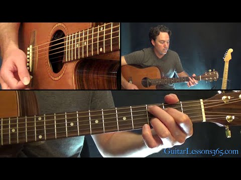 Nutshell Guitar Lesson Unplugged Pt1  Alice in Chains  Chords and 1st Solo