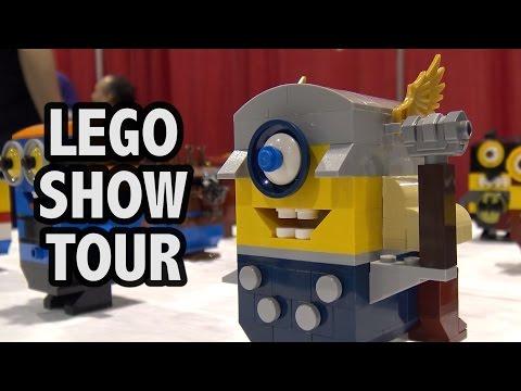 Complete Guided Tour of BrickFair Alabama 2017 LEGO Convention