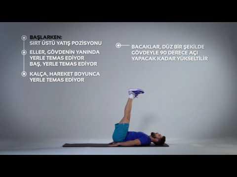 Lying Leg Raise Egzersizi Nasıl Yapılır?   Barcin.com