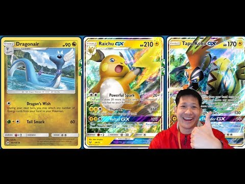 Turbo RAICHU GX Deck Using Unlimited Energy DRAGONAIR Method