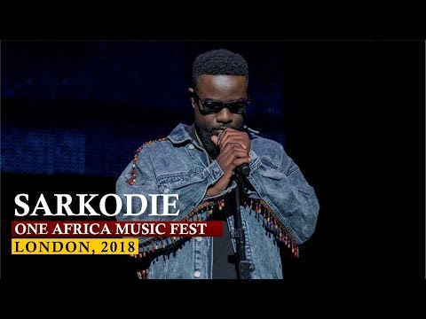 Sarkodie Awesome Performance   One Africa Music Fest, London 2018