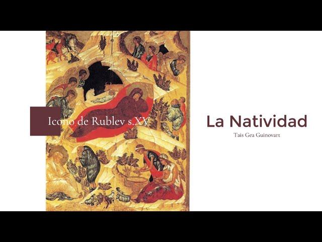 La Natividad Rublev