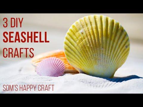 3-incredible-diys-with-seashells-|-craft-ideas-using-seashells-from-holiday-|-som's-happy-craft-2020